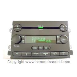 Oem Radio Ford 2005-2008 CD,MP3,6-Disc Cd Player 5G1T-18C815-EA