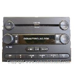 Ford Am / FM Cd Mp3 2004-2006 Freestyle, Mariner 5F9T-18C815-GA