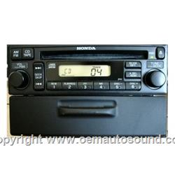 Acura Honda 1990 to 2002 Radio CD with CD Changer Controls