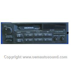Honda 1986-1997 Radio Cassette with CD Controls 39100-SV4-A000
