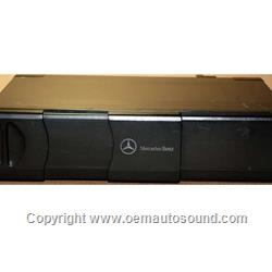 Mercedes Benz CD changer fiber optic 99 TO 2005