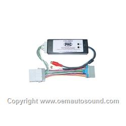 add an aftermarket amplifier for GM vehicles 2 channels w remote
