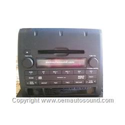 Toyota Tacoma 2005-2011 Radio Mp3 wma CD Player 86120-04150