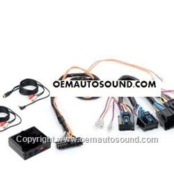 Dual Auxiliary Input Adapter for Gm Lan Radios 2006