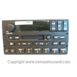 Ford Expedition Am/Fm tape Radio Stereo YL1F-18C870-GA
