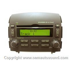 Factory Radio Hyundai Sonata 2006 to 2008 with Mp3 player