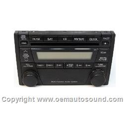 Factory Radio Mazda Tribute 2005-2006 5T2T-18C815-AA