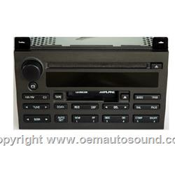 Factory Radio Lincoln 2003-2005 3W1T-18C868-CH