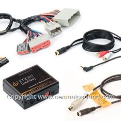 Ford Lincoln Mercury Sirius Satellite Radio kit with Auxiliary Input