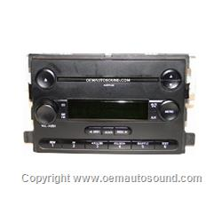 Radio Ford Focus 2006-2007 single cd,Mp3 player 6S4T-18C869-BD