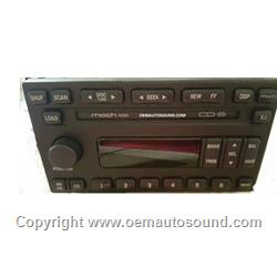 Factory Radio Ford Expedition, Mustang 2002-2004