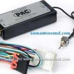 GMC 1995 to 2002 Auxiliary Audio input for