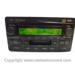 Toyota Tundra & Sequoia JBL CD Radio 86120-0C140