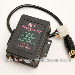 Pie Acura Auxiliary Audio Input 1992 to 2001 HON-AUX